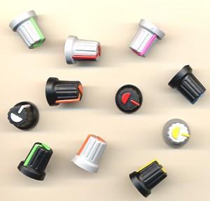 Κουμπιά για ποτενσιόμετρο