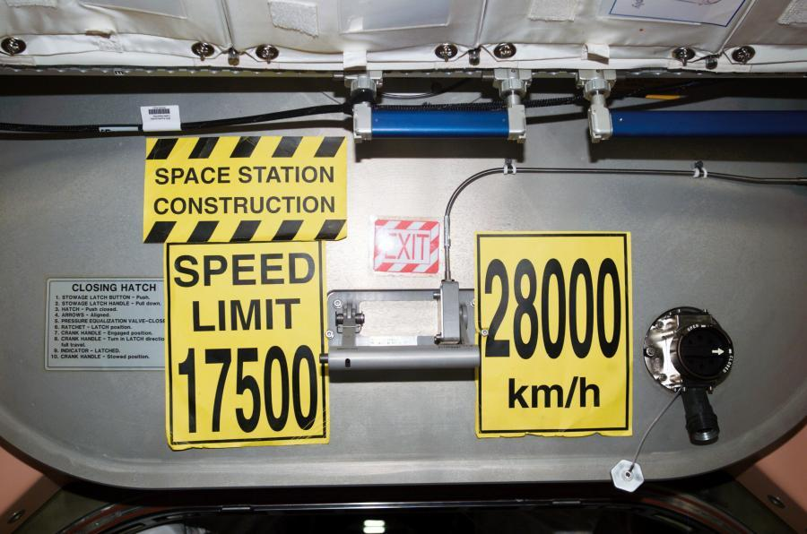 ISS Speed Limit