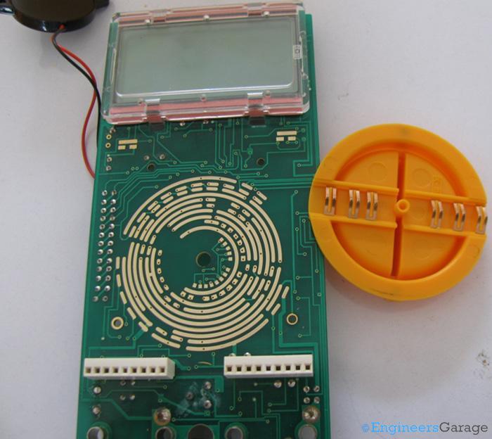 Multimeter rotary encoder