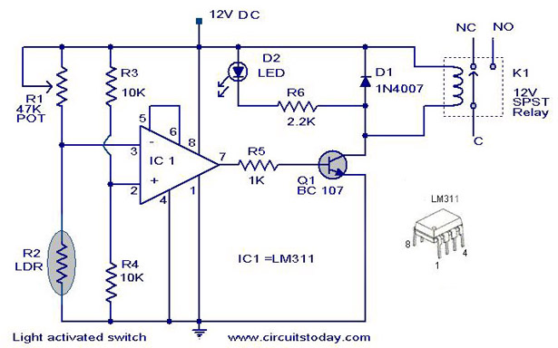 light-activated-switch-circuit