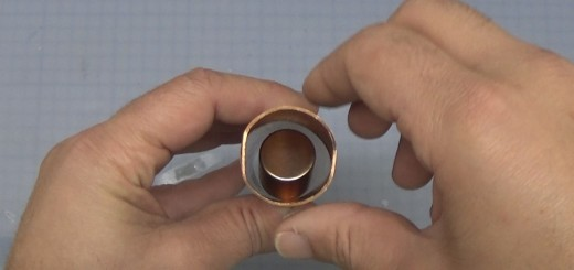 neodymium magnet throught copper pipe