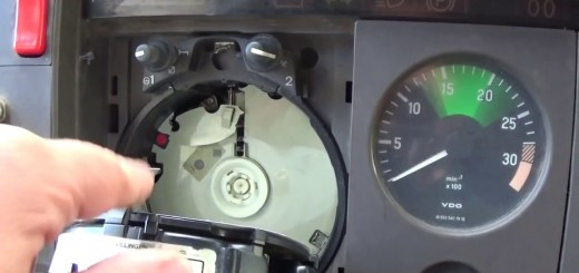 Mercedes Atego 814 instrument cluster