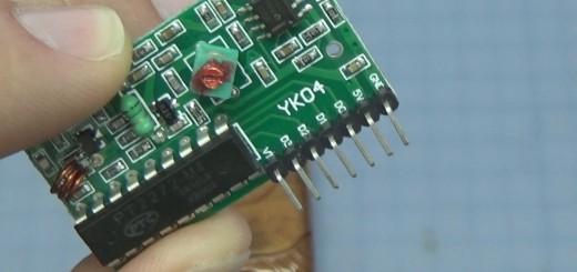 PT2272-M4 remote control board