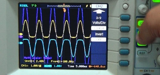 oscilloscope differential measurement using two channels