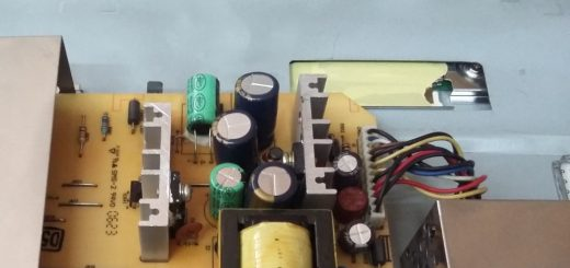 capacitors in a computer monitor
