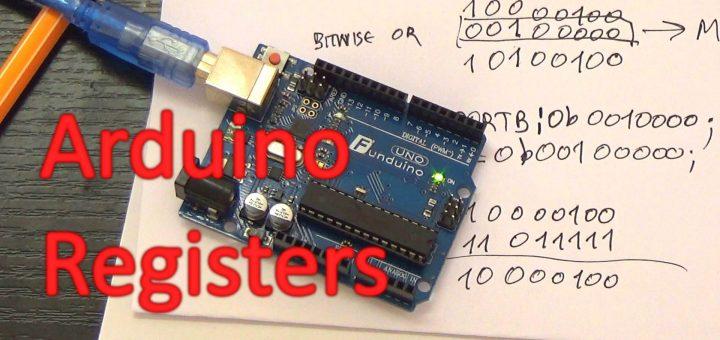 arduino registers